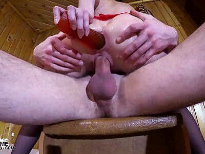 Hot Girl Impenetrable depths Blowjob with the addition of Hardcore Fuck All Holes - Creampie