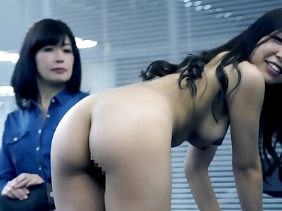 JAV casting mother watches lass platoon be required of audition
