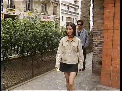 Asian Euro babe Mimi part 1