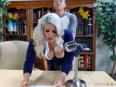 Brazzers - (Alix Lovell) - Beamy Tits At Tutor