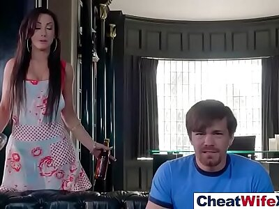 Intercorse Unaffected by Cam Fro Sluty Cheating Fit together (jennifer white) video-12