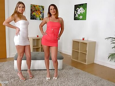 Ellen Betsy & Julia Red swaps sperm after hardcore fuck exposed to Sperm Swap